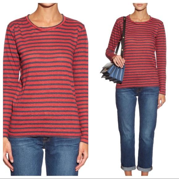bd9e33463bd3 Isabel Marant Tops - Etoile Isabel Marant Striped Kaaron Linen Shirt